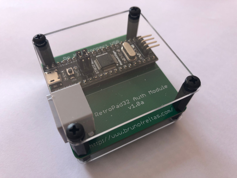 RetroPad32 Auth Module