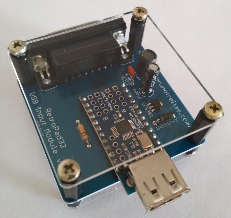 RetroPad32 USB Input Module