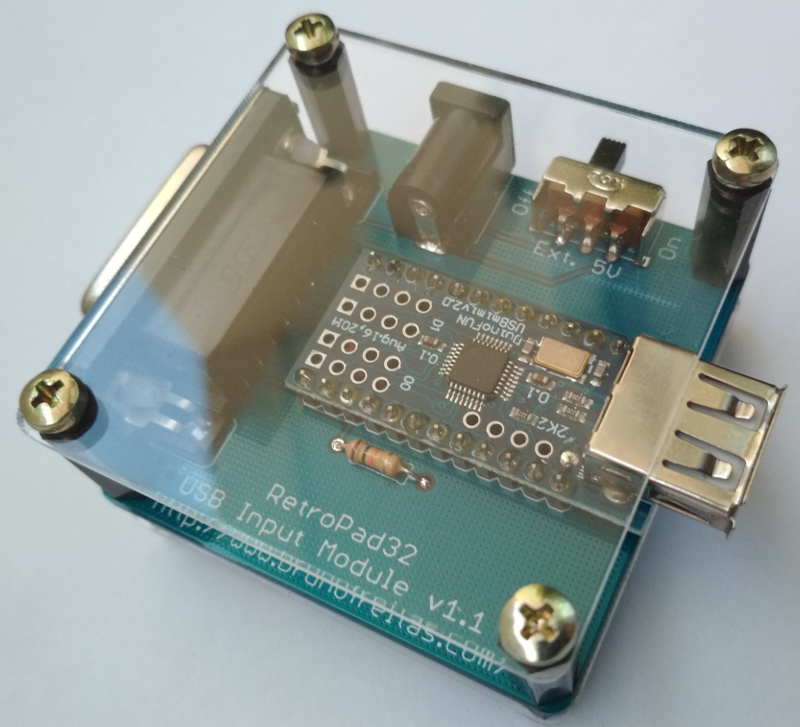 RetroPad32 USB Input Module v1.1